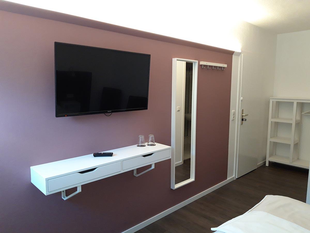 Doppelzimmer frisch renoviert